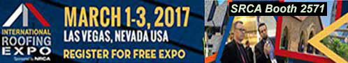 Slate Roofing Contractors at the International Roofing Expo 2017 inLas Vegas, Nevada
